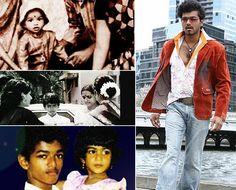 Vijay Photos - Vijay in Childhood Vj Art, Childhood Images, Movie Love Quotes, Pokemon, Most Handsome Actors, Vijay Actor, India People, Actors Images, Actor Photo
