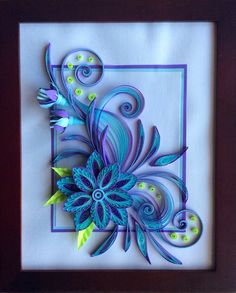 Inspired by Neli quilling.. I'm not sure about the design, but I love the colors!