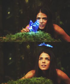 Octavia in season 1 being weird and watching the pretty blue butterfly #imobessedwiththe100