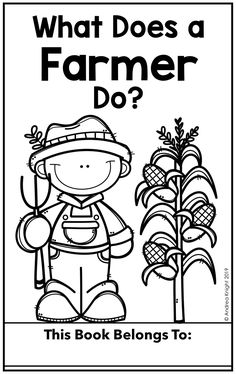 Introduce young readers to the important role farmers play in our communities. Key words, nonfiction text features, and simple illustrations support reading comprehension. (Two versions are included for differentiation. Teaching Kindergarten, Preschool Classroom, Teaching Ideas, Social Studies Book, Nonfiction Text Features, Farm Fun, 2nd Grade Teacher, Middle School English, Community Helpers