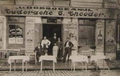 "Imagini cu restaurantul "" La Dobrogeanul"" - din Brăila 1932 Romania, Old Photos, Restaurant, Country, Architecture, City, Postcards, Antique Pictures, Antique Photos"