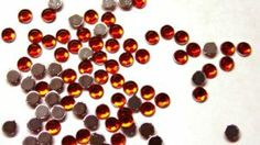 Zink Color Nail Art Acrylic Rhinestone Red 3Mm 100Pc Embellishment by Zink Color. $0.99. Perfect alternative for customer looking for #2000. 100pc high quality flat back crystal. Color: Red. Great for any kind of embellishment. Size: 3mm. Zink Color Nail Art Collection Acrylic Rhinestone Red Round 100pc 3 mm each