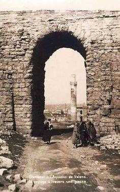 "İstanbul LOOK on Twitter: ""Bozdoğan Su Kemeri (Valens) (1900'lu yıllar ceymer 26"