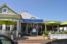 Seaside Florida on 30a, GREAT SOUTHERN CAFE. Our family's favorite restaurant at Seaside.