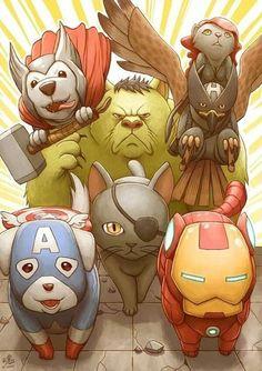 Animal Avengers