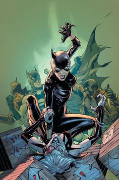 Batman - Catwoman by Tony Daniel, colours by Tomeu Morey * I Am Batman, Batman Art, Superman, Batman Robin, Batman Und Catwoman, Batgirl, Joker, Comic Books Art, Comic Art