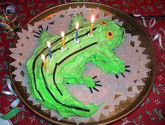 Krokotiilikakku by Matleena Laakso, via Flickr