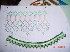 Diy Necklace Patterns, Macrame Bracelet Patterns, Bead Loom Bracelets, Beaded Jewelry Patterns, Seed Bead Tutorials, Beading Tutorials, Bead Crochet Patterns, Beading Patterns Free, Bead Jewellery