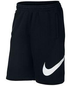 Nike Men's Club Swoosh Fleece Shorts - Nike - Men - Macy's