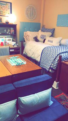 Freshmen Dorm Room At Depauw University In Humbert Hall