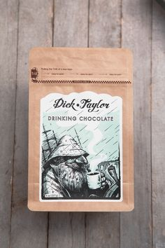 Wow the chocoholic in your life with this single origin drinking chocolate from Dick Taylor Craft Chocolate.