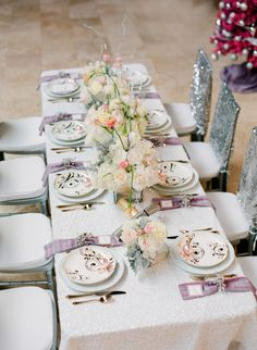 To see more romantic details about this wedding: http://www.modwedding.com/2014/11/21/stunning-holiday-inspired-wedding-shoot-pure-7-studios/ #wedding #weddings #wedding_centerpiece