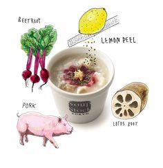 豚肉とビーツのOKAYU