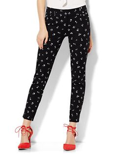 Shop The Audrey Ankle Pant - Cherry Print . Find your perfect size online at the best price at New York & Company.