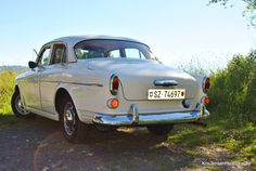 White Vintage Volvo  Swiss Volvo  8x10 inch photo by krismith22