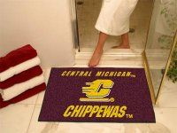 Central Michigan University AllStar Nylon NCAA Doormat