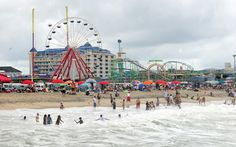 Ocean City Maryland Beach -- I'll be here in less than a month, so excited! <3