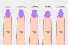 Speaking of which, pay attention to your shape. | 15 Important Tips For Having The Healthiest Nails Ever