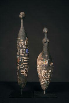 Risultati immagini per etiye poulsen Sculptures Céramiques, Art Sculpture, Ceramic Figures, Clay Figures, Paper Mache Clay, Clay Art, Sculpture Techniques, Art Techniques, Statues