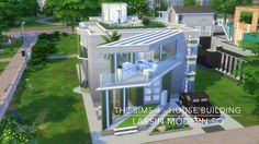 The Sims 4 - House Building - Larsin Modern SQ