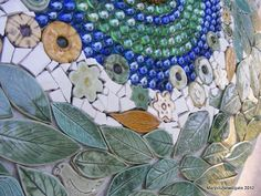 How to Mosaic and make beautiful objects for home and garden....inspiring website  VERY NICE!
