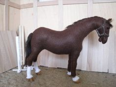Eu Amo Artesanato: Cavalinhos com molde лошадь игрушка / toy horse