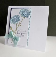 FS473 ~ Thoughts of You by sistersandie - Cards and Paper Crafts at Splitcoaststampers