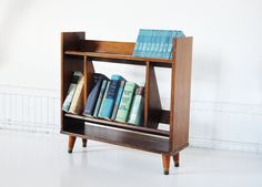 Mid-Century Bookshelf, from The White Pepper via Etsy. This shop is full of fun vintage and mid-century furniture and housewares.