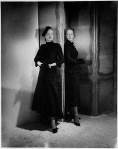 Marlene Dietrich und ihre Tochter