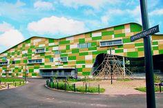 School building in Finland (near Helsinki)
