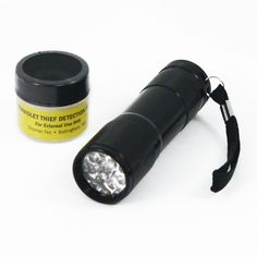Ultraviolet UV Theft Detection Powder and  Ultraviolet UV LED Flashlight Combo *** Check out this great item shown here  : Camping stuff