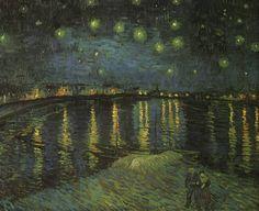 Nuit étoilée sur le Rhone - Van Gogh