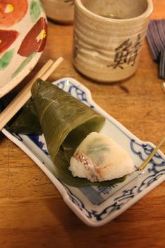 Izuju (Kyoto style sushi), a Sumie exhibition and Gion stroll...