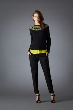 Marchesa Voyage | Fall/Winter 2014 Ready-to-Wear Collection via Designers Georgina Chapman and Keren Craig | February 18, 2014; New York