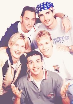 Throwback Thursday - Backstreet Boy style