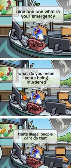 i love those people on club penguin who probably aren't ten-year-olds and who pull stuff like this.
