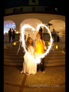 sparkler send offs are a great way to light up your exit! This extended exposure shot is a great idea! Lake lure nc weddings