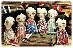 Danita Art: Alice in Wonderland dolls collection: Finished!