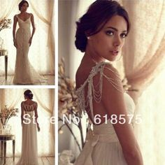 Anna Campbell Gossamer Collection Luxury Backless Chiffon Wedding Dress  Shop  179.00 Italian Wedding Dresses dbdb67e79601