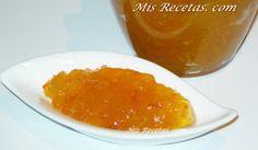 MIS RECETAS. COM: Mermelada de calabaza y naranja hecha en microondas