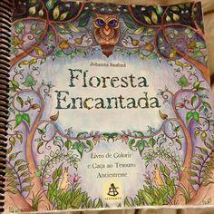 Jardim Secreto Johanna Basford Secret GardenColoring PagesAdult ColoringColoring BooksTitle PageEnchantedArtEnchanted Forest