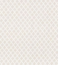 Fabric Mini Quatrefoil Brown - this would look great on my glider rocker