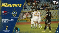 Watch highlights from the Galaxy's 1-1 draw with Central FC