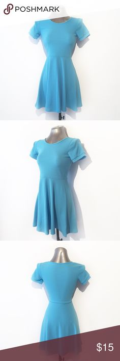 🔴BOGO FREE🔴 Blue Textured Fit n Flare Dress ••NWOT-no flaws•• •Crew neck •Short sleeves •Fit n flare •Textured throughout •Polyester/spandex •Baby blue S, M, L  •NO TRADE/HOLD  •YES BUNDLES   •PLEASE ASK QUESTIONS & READ DESCRIPTIONS. Measurements and sizing recommendations are for guidance purposes only. I cannot guarantee fit❗️ Boutique Dresses Mini