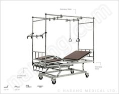 Hospital Beds - Orthopaedic : View our broad Orthopedic beds range, select the most suitable model and inform us your specific purchase requirement so that we can offer you CIF prices.