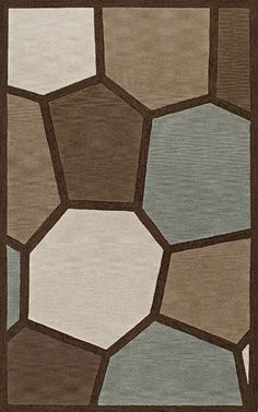 Transitions TR9 Rug from the Bauhaus I collection at Modern Area Rugs