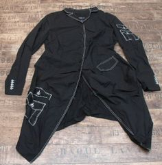 rundholz black label - Gehrock Attrappe black print - Sommer 2014 - stilecht - mode für frauen mit format...