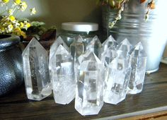 Gorgeous Crystal Quartz Points!