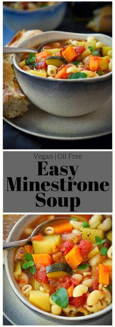 This vegan minestron