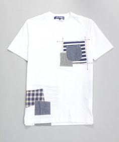 onlycoolstuff:    junya watanabe patchwork pocket tee